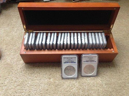 American Eagle Set 1986-2010