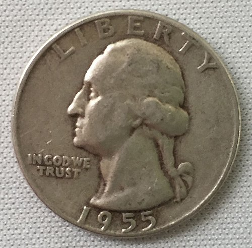 1955 P Washington Quarter