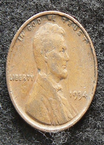 1934 P Lincoln Wheat Cent (G-4)