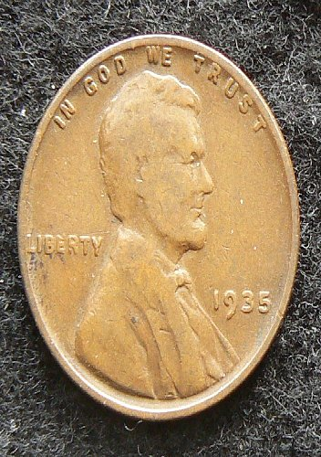 1935 P Lincoln Wheat Cent (VG-8)