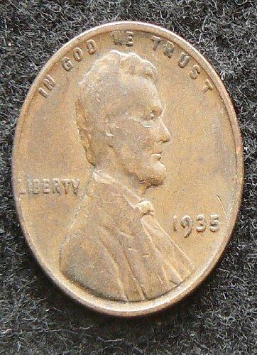 1935 P Lincoln Wheat Cent (F-12)