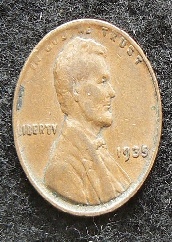 1935 P Lincoln Wheat Cent (VF-20)