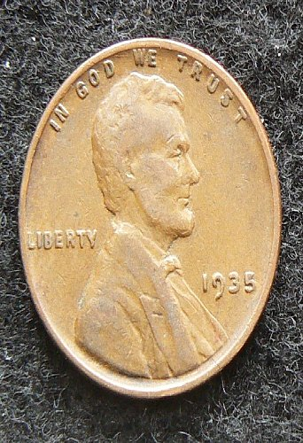 1935 P Lincoln Wheat Cent (VF-30)