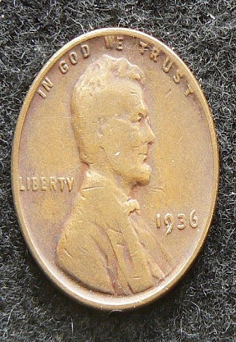 1936 P Lincoln Wheat Cent (VG-8)