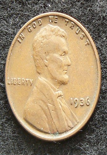 1936 P Lincoln Wheat Cent (VF-30)