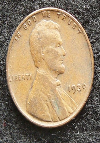 1939 P Lincoln Wheat Cent (VG-8)