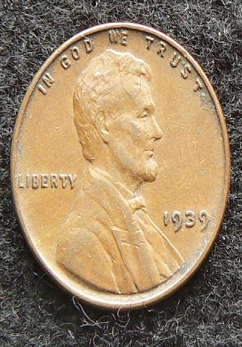 1939 P Lincoln Wheat Cent (VF-35)