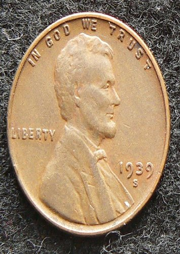 1939 S Lincoln Wheat Cent (VF-20)