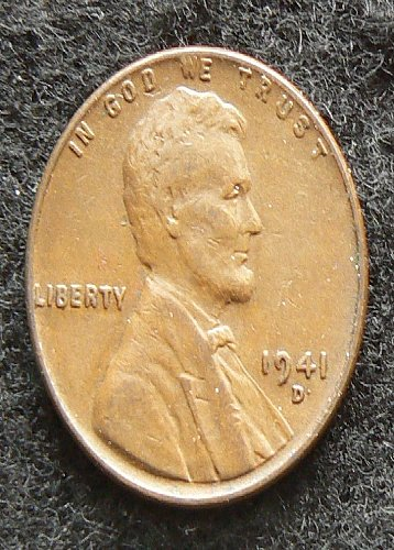 1941 D Lincoln Wheat Cent (VF-30)