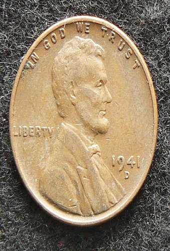 1941 D Lincoln Wheat Cent (EF-40)