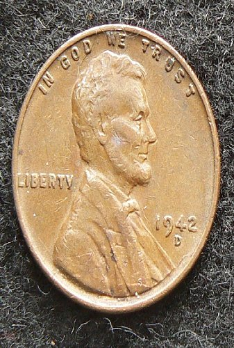1942 D Lincoln Wheat Cent (VF-20)