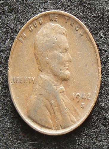 1942 S Lincoln Wheat Cent (F-12)