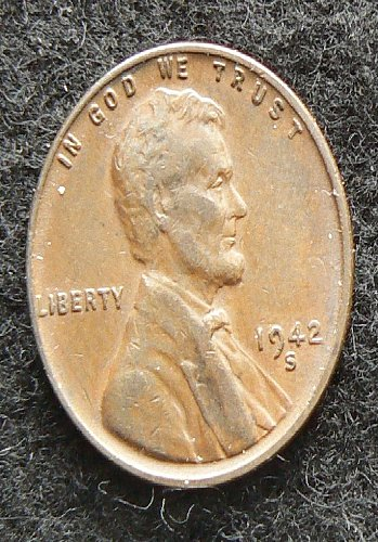 1942 S Lincoln Wheat Cent (EF-40)