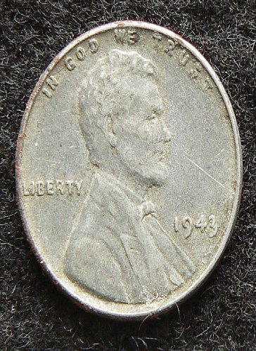 1943 P Lincoln Wheat Cent (VF-35)