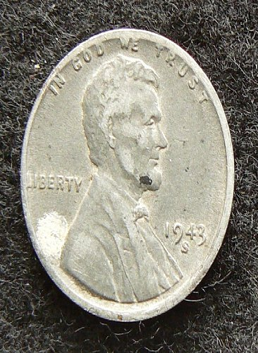 1943 S Lincoln Wheat Cent (VF-30)