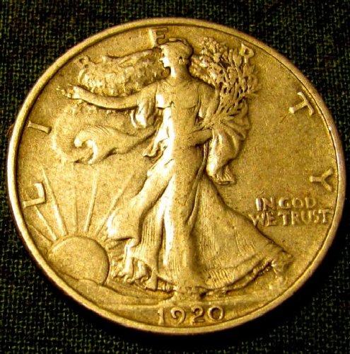 1920 P Walking Liberty SILVER Half  $, original $sale - A-10