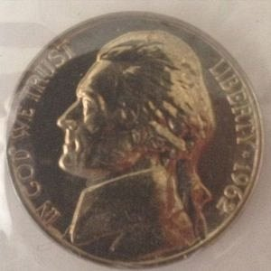 1962 D JEFFERSON NICKEL 5C - MS / BU - UNC