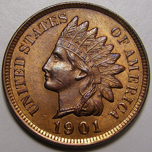 1901 Indian Head Cent #8