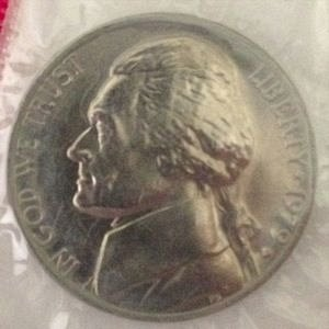 1979 D JEFFERSON NICKEL 5C - MS / BU