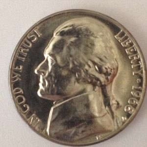 1968 D JEFFERSON NICKEL 5C - MS / BU - UNC