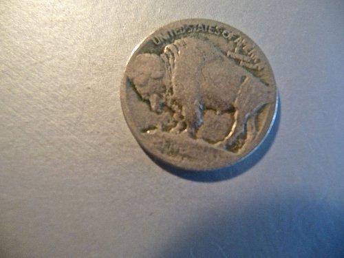 1913 - D Buffalo Nickel