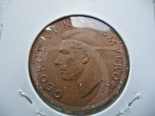 1943 New Zealand Penny