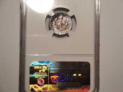 High Grade 1958-P Roosevelt Dime Certified By NGC MS-66 Very Nice Coin!