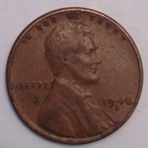 1940 S LINCOLN WHEAT PENNY