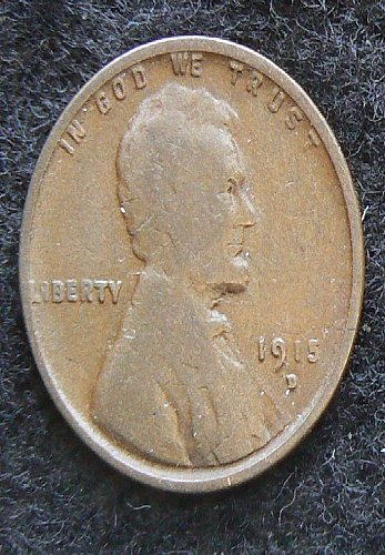 1915 D Lincoln Wheat Cent (VG-8)