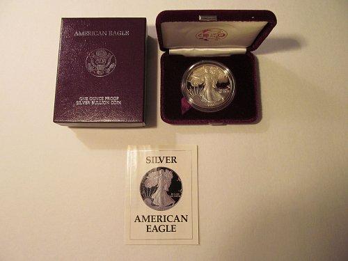 1992S Silver American Eagle