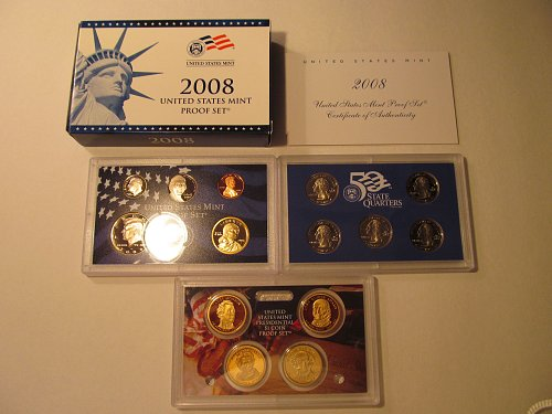 2008 United States Mint proof set