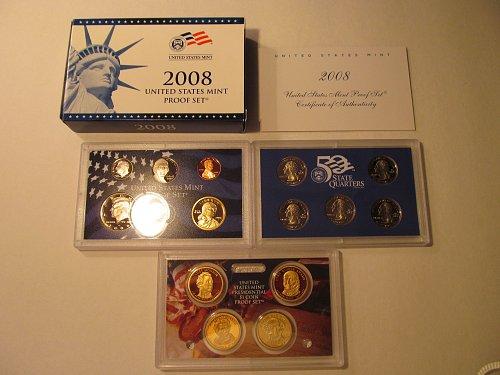 2008 United States Mint proof set