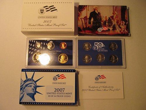 2007S United States Mint proof set