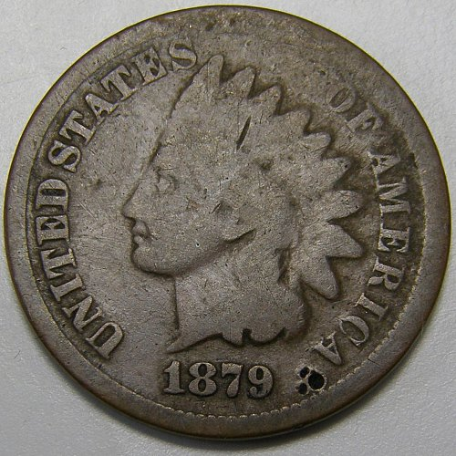 1879 Indian Head Cent #11