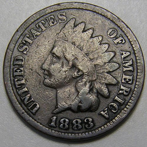 1883 Indian Head Cent #10