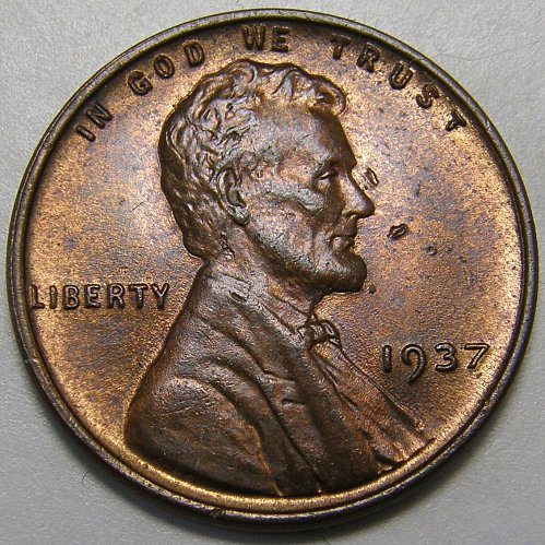 1937 P Lincoln Wheat Cent #3