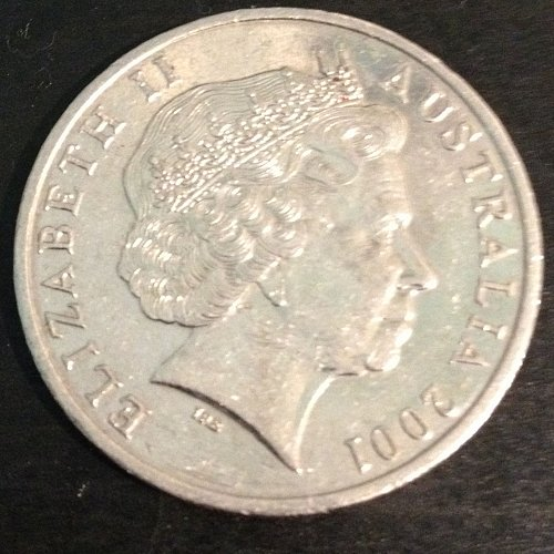 2001 Australia 20 Pence - Canberra - IRB