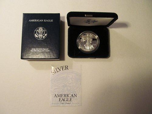 2002 Silver American Eagle