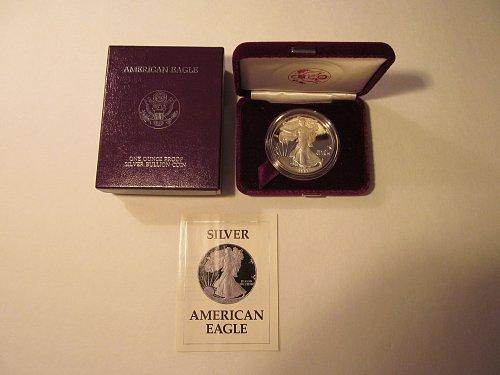 1987S Silver American Eagle