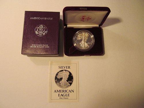 1989S Silver American Eagle