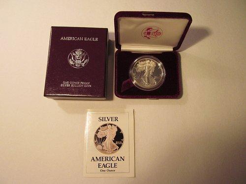1988S Silver American Eagle
