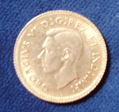 1938 Canada 10 Cents XF