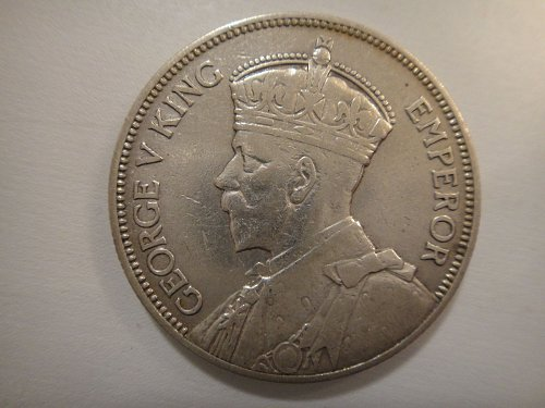 NEW ZEALAND Florin 1933 50% SILVER 0.1818 ASW KM#4 First Year of Type!
