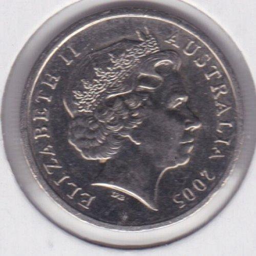2005 Australia 5 Pence Coin - Queen Elizabeth