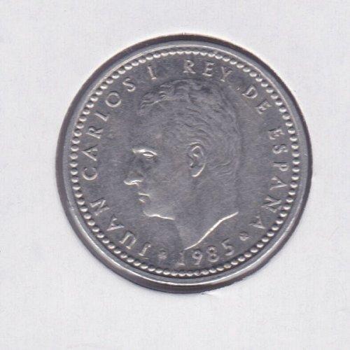 1985 Spain 1 Peseta  - Juan Carlos I Rey De Espana