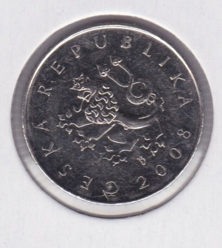 2008 Czech Republic 1 Koruna - Ceska Republika