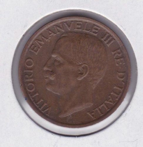 1920-R Italy 10 Cent - 10c - King Vittorio Emanuele III - UNC