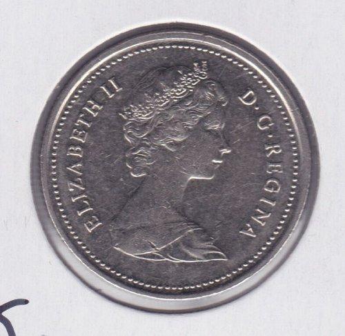 1984 Canada 25c - 25 Cents - Queen Elizabeth - UNC