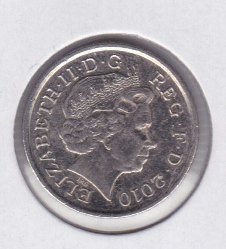 2010 England 5 Pence Coin - IRB - UNC