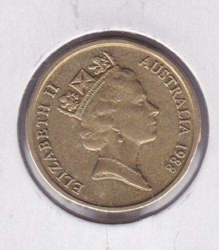 1988 Australia 2 Dollars Coin - $2 - IRB - Aboriginal Elder